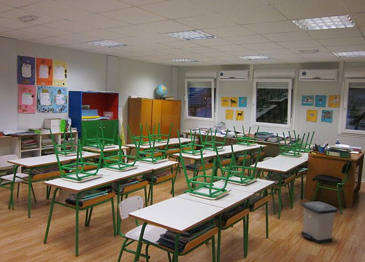 módulos para colegios prefabricados