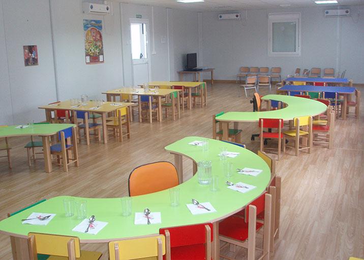 Módulos para guarderías y colegios