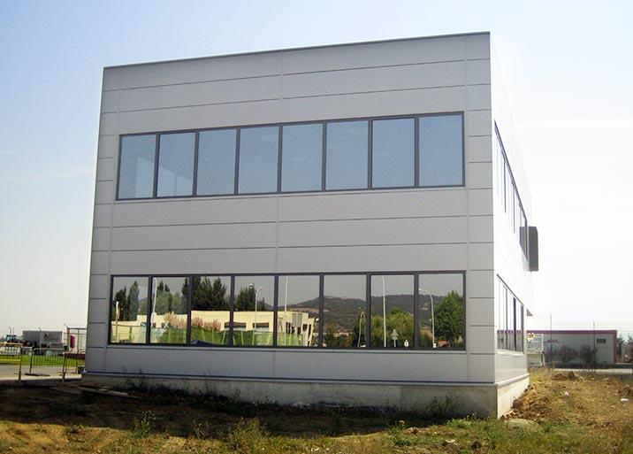 Edificios modulares para empresas