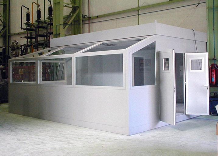 Modulos para laboratorios prefabricados