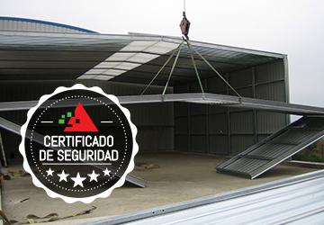 Soluciones modulares en Vizcaya con certificados de garantía