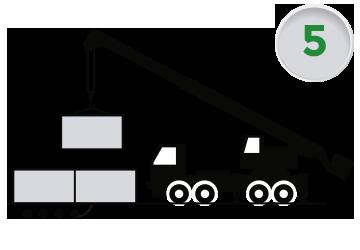 Montaje de soluciones modulares y casetas