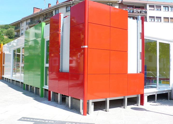 Módulos para guarderías y colegios prefabricados