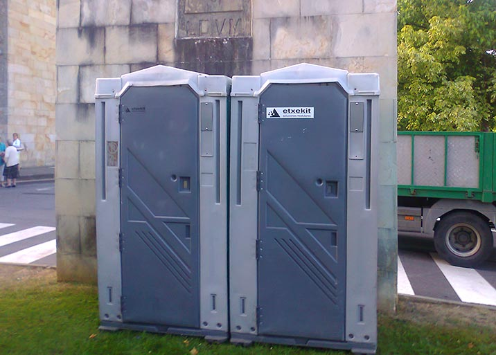 Alquiler de wc portátiles