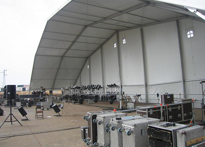 Alquiler de escenario