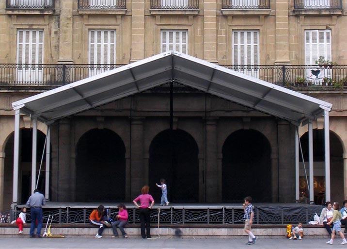Alquiler de escenarios para conciertos