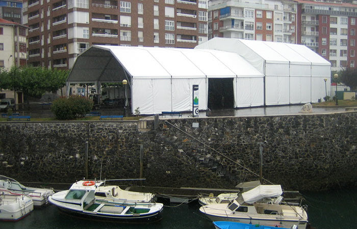 Alquiler de carpas para eventos Vizcaya