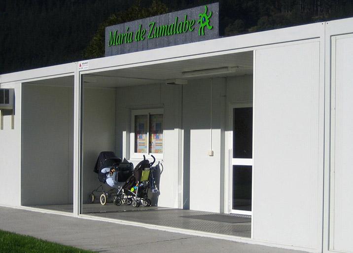 Módulos prefabricados para colegios y guarderías Vizcaya