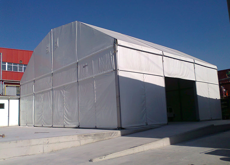 Carpas industriales for Carpa europea