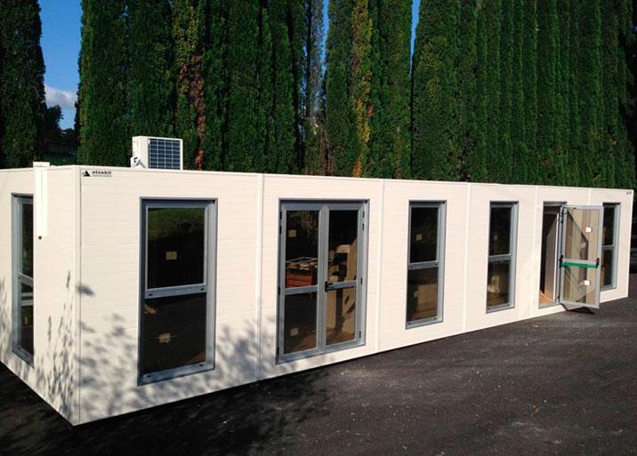 Alquiler de módulos y casetas prefabricadas