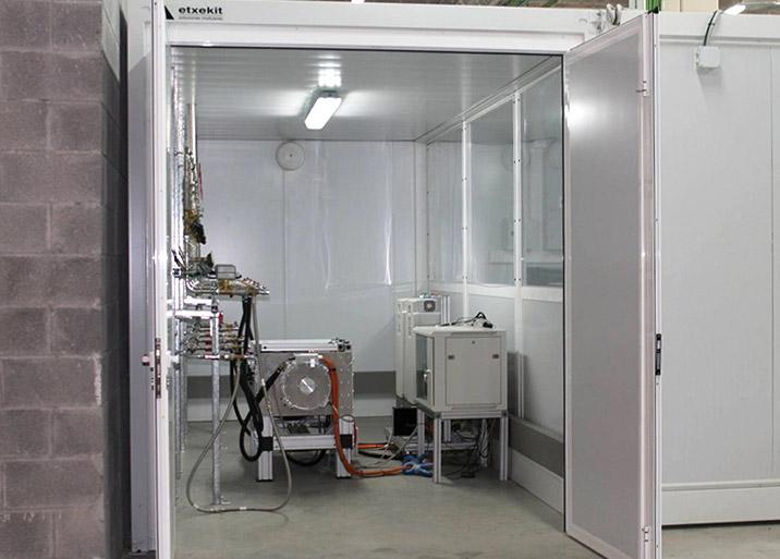 Alquiler de casetas para laboratorios
