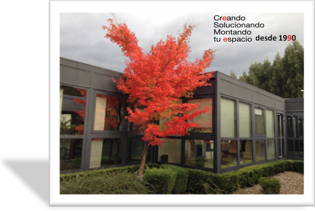 Etxekit , oficinas en otoño desde 1990