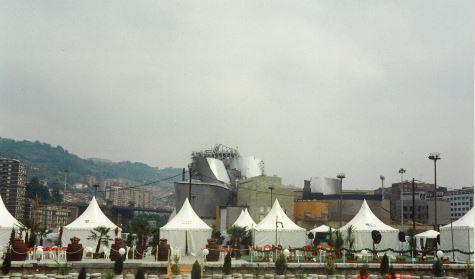Jaimas Etxekit Museo Guggenheim en construcción