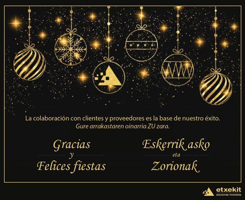Etxekit Navidad 2019 y Año Nuevo 2020