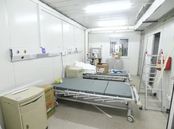 Conjunto hospital Wuhan Coronavirus - fuente Businessinsider