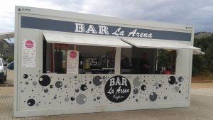 txiringito chiringuito playa modulo bar