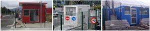 Modulo control vigilancia Garita de control de accesos
